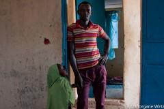 """Les repentis de Boko Haram sont abrités dans le camps avec leur famille le temps d'être """"déradicalisés""""."""
