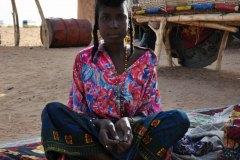 Ténéré, dans son campement à Abalak, Niger