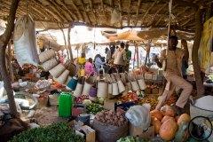 Marché aux légumes, Agadez, Niger