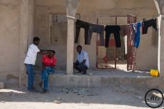 Dans un premier temps, les demandeurs d'asile soudanais n'avaient pas de logement et campaient devant le siège du UNHCR.