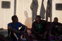 Les demandeurs d'asiles ont ensuite été relogés dans un centre d'hébergement, à 15 kilomètres d'Agadez.