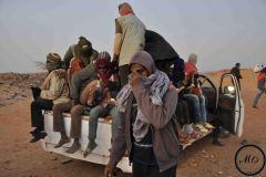 Certains demandeurs d'asile, las d'attendre que leur dossier soit prit en considération, décident de rejoindre les Nigeriens et les migrants qui prennent la routevers la Libye.