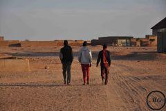 Agadez, c'est aussi une ville qui acceuille de nombreux migrants originaires d'Afrique de l'Ouest et qui souhaitent voyager vers l'Algérie ou la Libye.