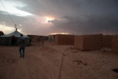 Dans le camp de Smara, l'électricité a été installée il y a deux ans.
