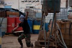 « Marchons jusqu'au mur ! Explosons-le pour un Sahara Libre ! », a crié ce jeune au moment de la prise de cette photo.
