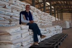 Le Croissant rouge sahraoui doit souvent puiser dans les stocks de réserve pour fournir de la nourriture en quantité suffisante aux réfugiés.