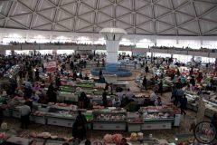 Tashkent, marché à la viande, 2017